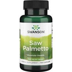 Swanson Palma Sabałowa (Saw Palmetto) 540 mg 100 kapsułek