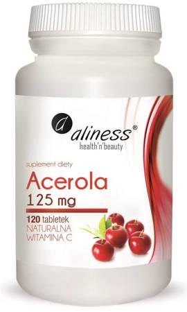 Aliness Acerola 125 mg 120 tabletek