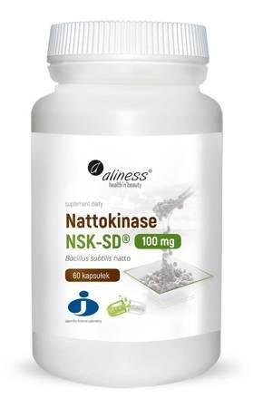Aliness Nattokinaza 100 mg 60 kapsułek vege
