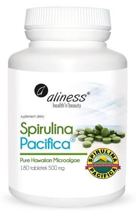 Aliness Spirulina Pacyfica 500 mg 180 tabletek