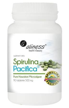 Aliness Spirulina Pacyfica 500 mg 90 tabletek