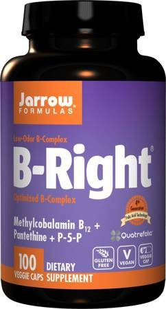 Jarrow B-Right Witamina B Complex 100 kapsułek