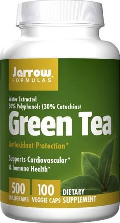 Jarrow Formulas Zielona Herbata (Green Tea) Extract 500 mg 100 kapsułek