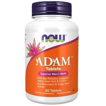 Now Foods Adam Tablets (Multiwitamina i Minerały) 60 tabletek