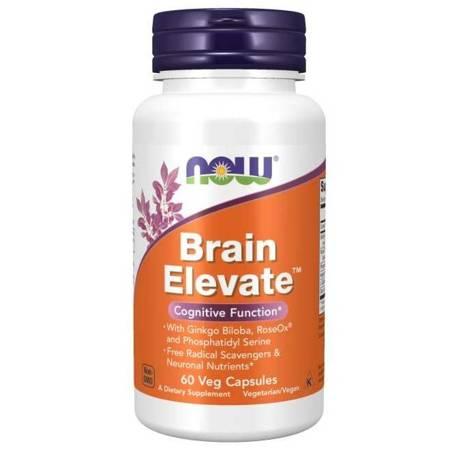 Now Foods Brain Elevate Formula 60 kapsułek