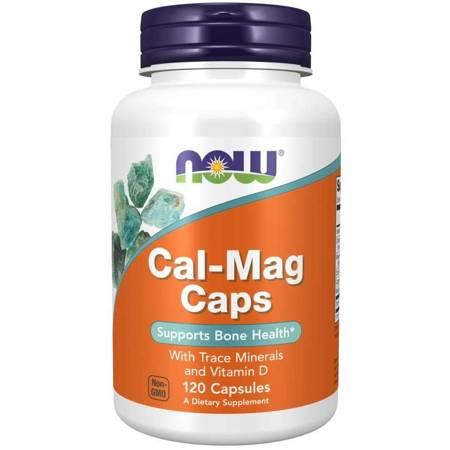 Now Foods Cal-Mag Caps 120 kapsułek