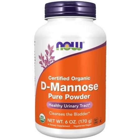 Now Foods D-Mannoza 100% Puder 170 g