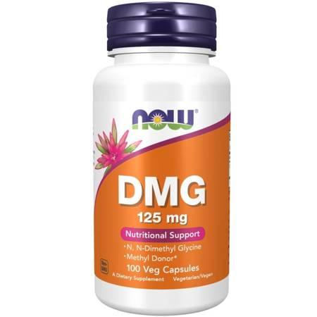Now Foods DMG 125 mg 100 veg kapsułek
