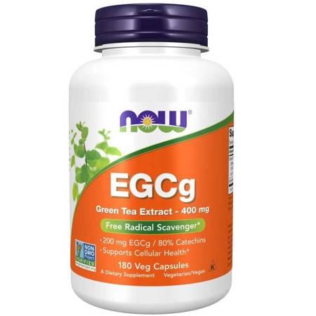 Now Foods EGCg Zielona Herbata (Green Tea) Extract 400 mg 180 kapsułek