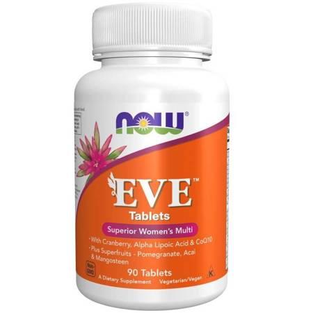 Now Foods Eve Tablets (Multiwitamina i Minerały) 90 tabletek
