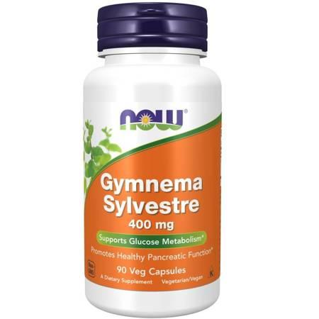 Now Foods Gymnema Sylvestre 400 mg 90 kapsułek
