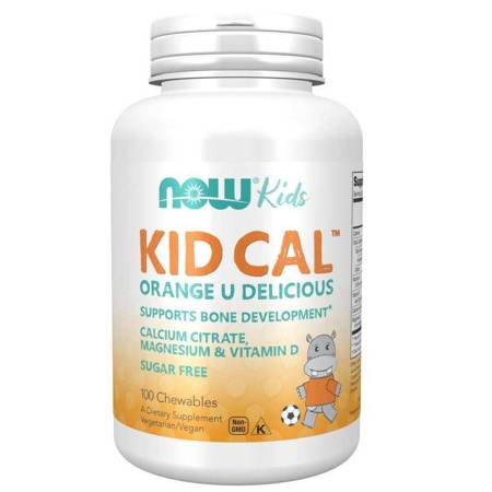 Now Foods Kid-Cal 100 tabletek do ssania