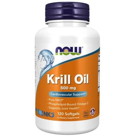 Now Foods Krill Oil Neptune 500 mg 120 kapsułek