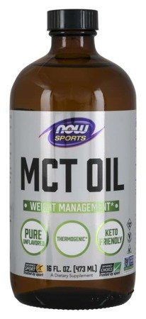 Now Foods Olej MCT bezzapachowy 473 ml