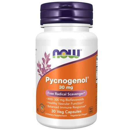 Now Foods Pycnogenol 30 mg 30 kapsułek