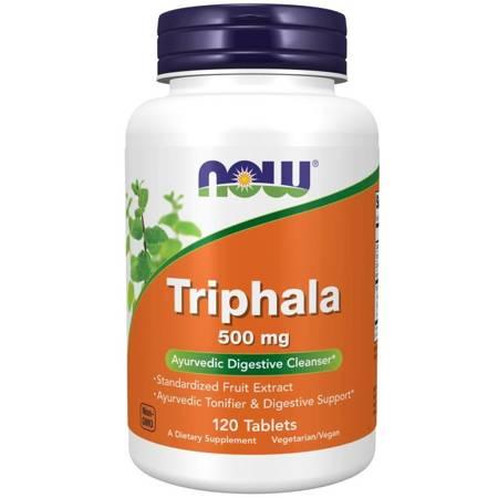 Now Foods Triphala 500 mg 120 tabletek