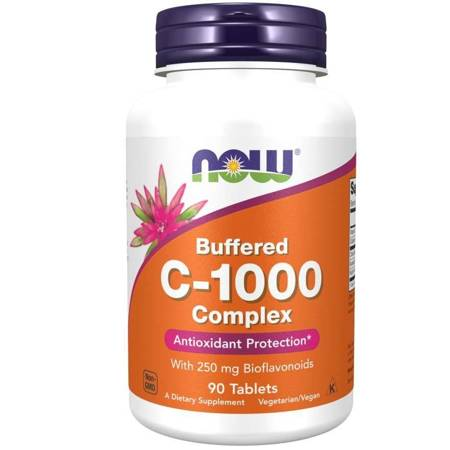 Now Foods Witamina C 1000 mg Complex Buforowana 90 tabletek