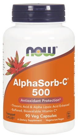 Now Foods Witamina C 500 mg AlphaSorb-C 90 veg kapsułek