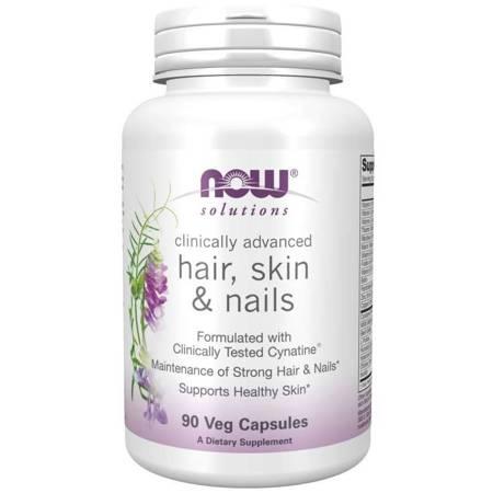 Now Foods Włosy, Skóra i Paznokcie (Hair, Skin i Nails) 90 kapsułek