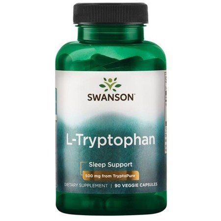 Swanson AjiPure L-Tryptofan 500 mg 90 kapsułek