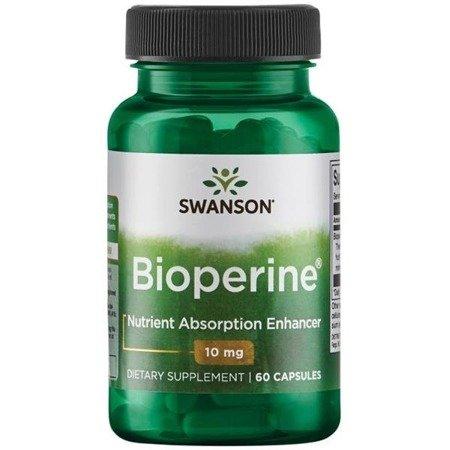 Swanson Bioperyna (Bioperine) 10 mg 60 kapsułek