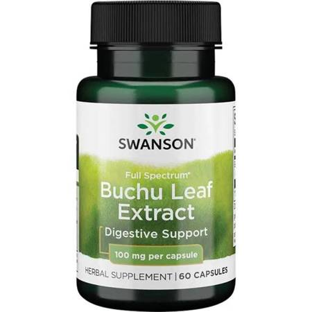 Swanson Bukko Brzozowe (Buchu Leaf) 100 mg 60 kapsułek