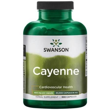 Swanson Cayenne 450 mg 300 kapsułek