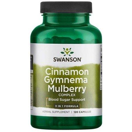 Swanson Cynamon, Gymnema i Morwa Complex 120 kapsułek