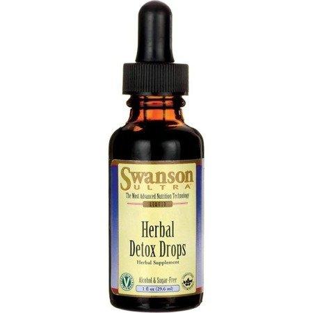 Swanson Herbal Detox Drops 29,6 ml krople