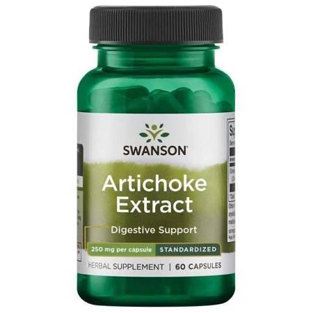 Swanson Karczoch (Artichoke) Extract 250 mg 60 kapsułek