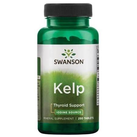 Swanson Kelp (Jod) 250 tabletek