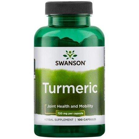 Swanson Kurkuma (Turmeric) 720 mg 100 kapsułek