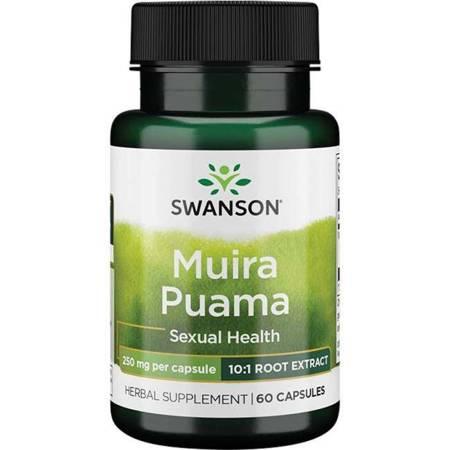 Swanson Muira Puama Extract 250 mg 60 kapsułek