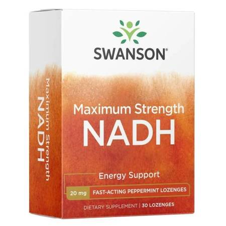 Swanson NADH Fast-Acting 20 mg 30 tabletek