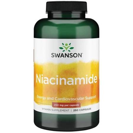 Swanson Niacyna (Niacinamide) 250 mg 250 kapsułek