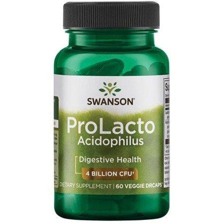 Swanson Probiotyk Prolacto Acidophilus 60 kapsułek