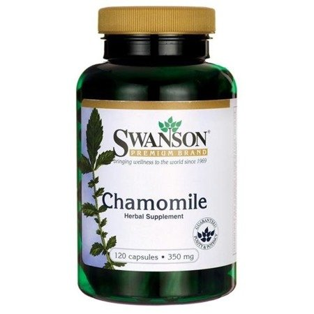 Swanson Rumianek (Chamomile) 350 mg 120 kapsułek