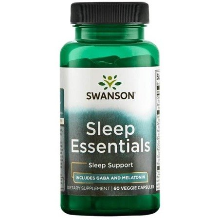 Swanson Sleep Essentials 60 kapsułek