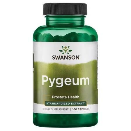 Swanson Śliwa Afrykańska (Pygeum) 500 mg 100 kapsułek
