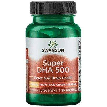 Swanson Super DHA 30 kapsułek