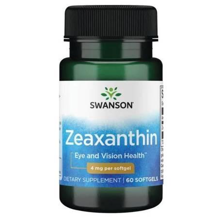 Swanson Zeaksantyna OmniXan 4 mg 60 kapsułek
